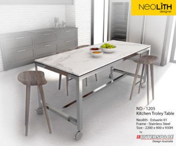 ND 1205 - 2 KitchenTroleyTable